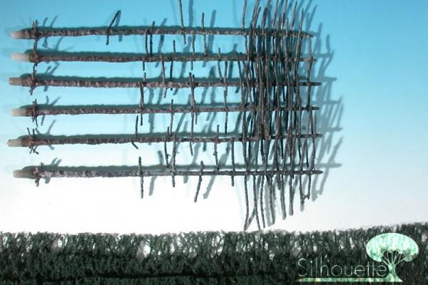 Bausatz Innenwald-Tanne Größe: 2 Sommer 6 Stück
