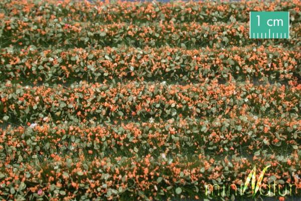 Blütenstreifen Größe: ca. 336 cm orange 1 : 87 Stück