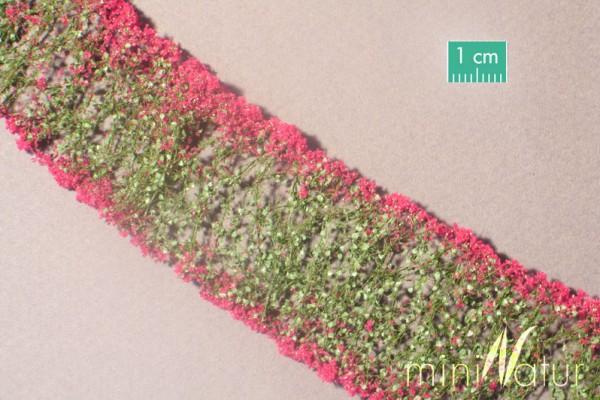 Blumen / Flowers magenta Größe: 6x ca.15 cm Maßstab: H0/0