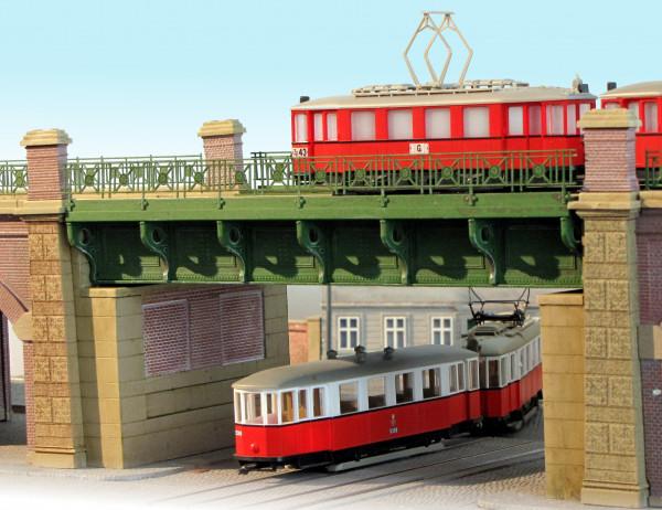 Balkenbrücke der Stadtbahn