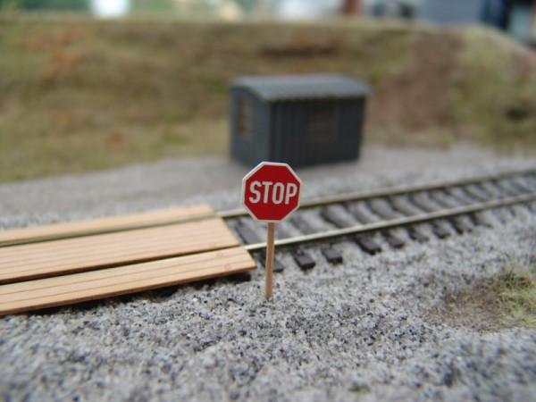 STOP Tafel , 4 Stück