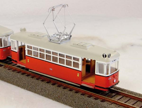 Wiener Straßenbahn Triebwagen T1 Bausatz Stufe 3 1:87 H0