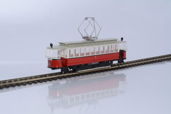 Wiener Straßenbahn Triebwagen T mit Kobelverglasung Fertigmodell mit Motor 1:87 H0