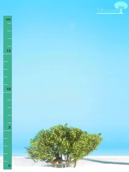 Büsche niedrig/ Low shrubs Sommer Größe: ca. 4 cm