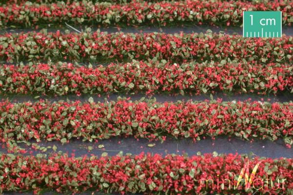 Blütenstreifen Größe: ca. 336 cm rot 1 : 87 Stück