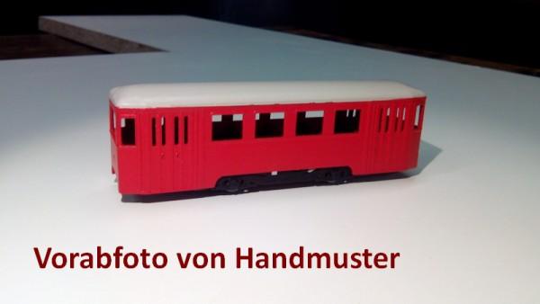 Wiener Stadtbahn Beiwagen n2 Bausatz Stufe 3 1:87