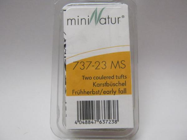 Karstbüschel / Two coloured tufts Frühherbst Größe: ca. 42x15 cm Maßstab: 1:87