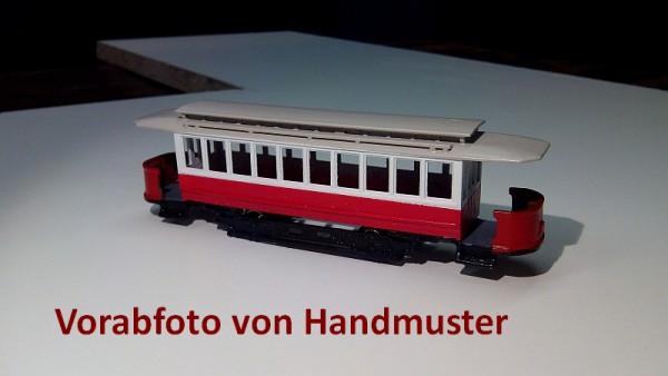 Wiener Straßenbahn Triebwagen T mit Kobelverglasung Bausatz Stufe 3 1:87 H0