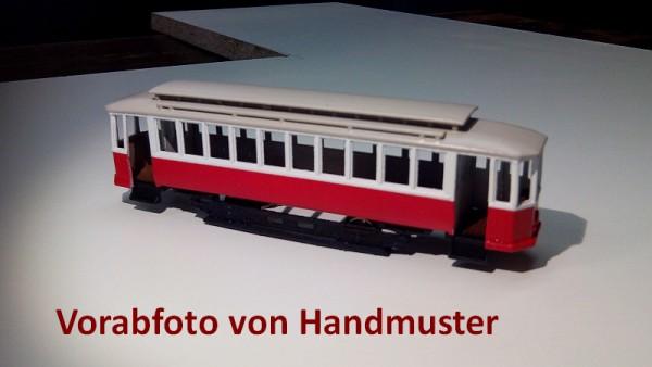 Wiener Straßenbahn Triebwagen T mit Holzverglasung 1 Bausatz Stufe 3 1:87