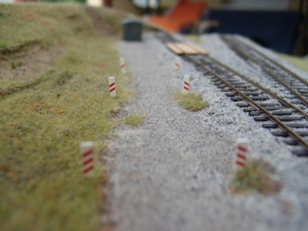 Eisenbahnkreuzungsbaken, Inhalt 6 Stück