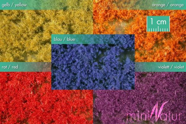Bodendecker, farbig Größe: 5x ca.15x9 cm Sommer 1 : 87 Stück