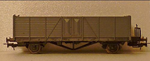 Güterwagen Type Villach BBÖ H0 1;87