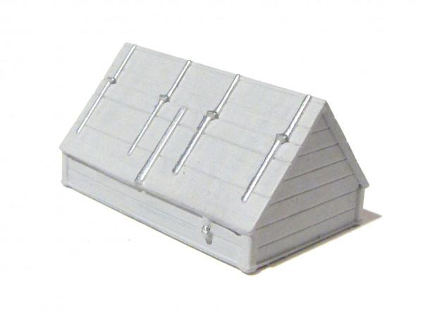 Streusand-Häuschen grau