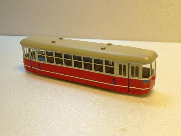 Wiener Straßenbahn Beiwagen l3 Fertigmodell 1:87 H0