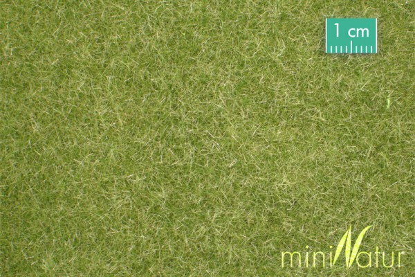 Rasen kurz / Short lawn Frühherbst Größe: ca. 63x50 cm Maßstab: 1:87