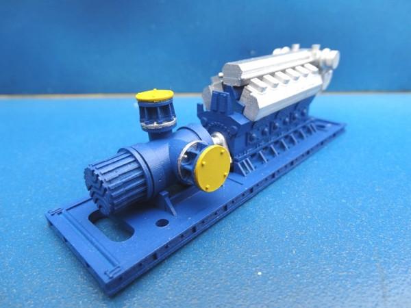 Spindelpumpe mit Dieselmotor
