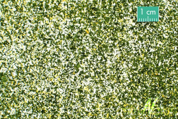 Wiese mit Blüten Größe: ca. 63x50 cm Frühling 1 : 87 Stück