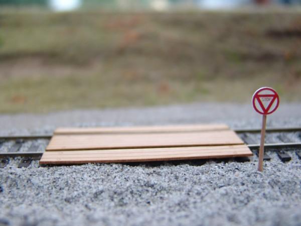 STOP Tafel alt, 4 Stück
