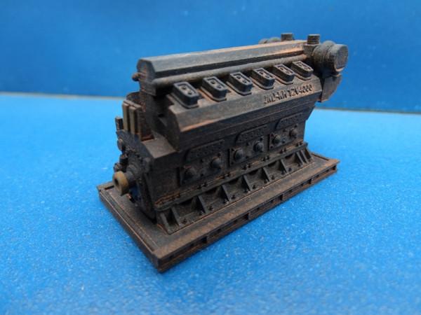 Dieselmotor rostig