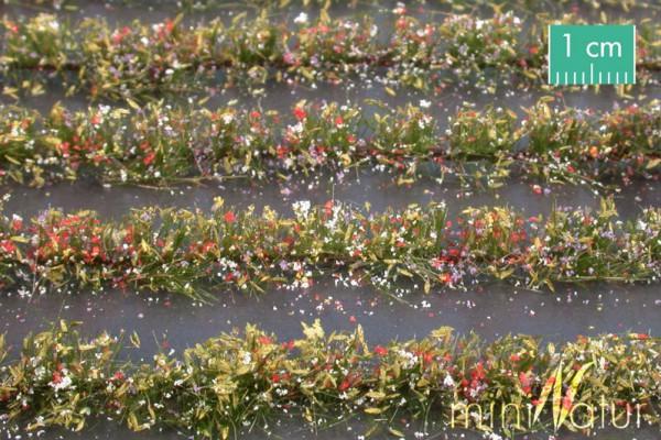 Blumenfeld-Streifen Größe: ca. 231 cm bunt 1 : 87 Stück