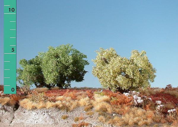 Büsche halbhoch/ High shrubs Frühling Größe: ca. 8 cm