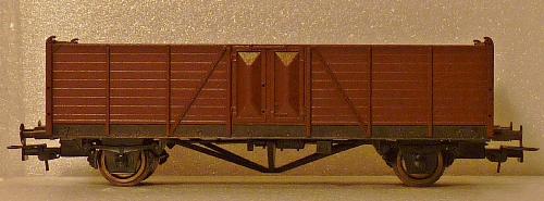 Güterwagen Type Villach ÖBB H0 1;87