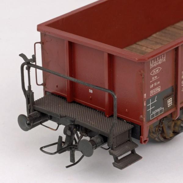 OBK-Kupplung für Waggons Kunststoff/ Bügel