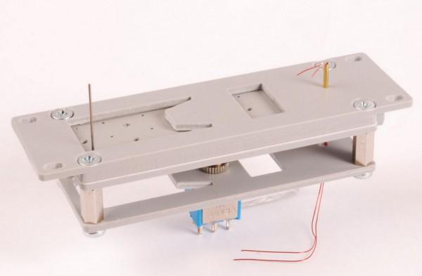 Spur 0-Weichenantrieb mit Laternendrehungen Handbetrieb