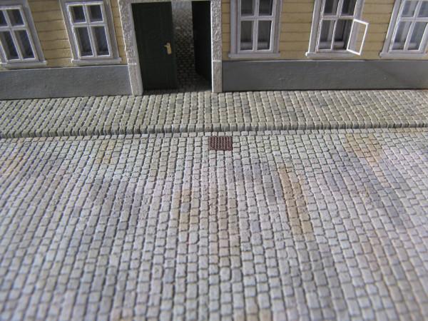 Straßenplatte Kopfsteinpflaster