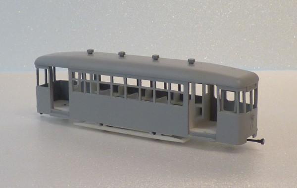 Wiener Straßenbahn Beiwagen k6 Bausatz Stufe 2 1:87 H0