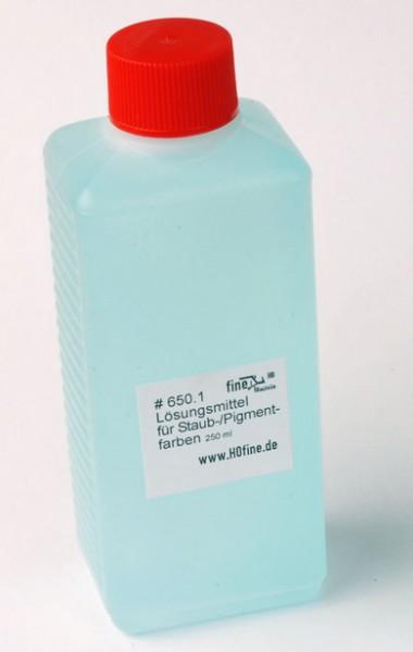 Lösungmittel für Staub- und Pigmentfarben 250ml