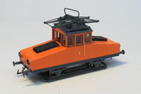 E-LOK NUMMER 2 ST. PÖLTEN Epoche 4a (Orange) Standard Ausführung motorisiert H0