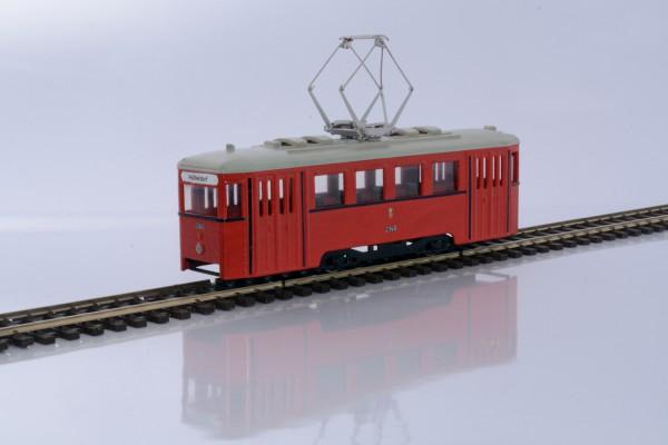 Wiener Stadtbahn Triebwagen N1 Fertigmodell mit Motor