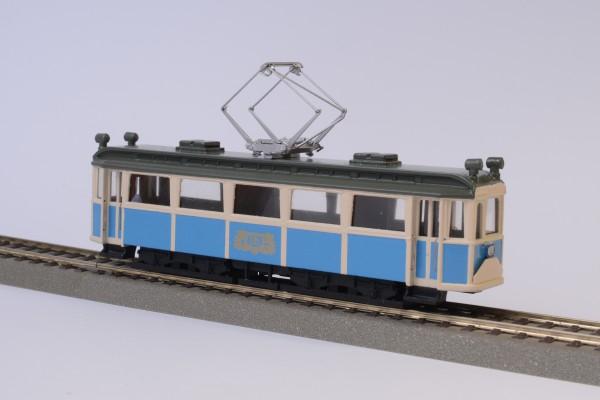Wiener Lokalbahn WLB Hofsalonwagen Fertigmodell mit Motor 1:87